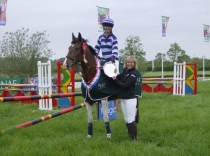 National Senior Novice Eventers Challenge winner 2012