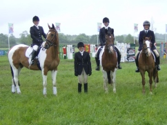Combined Training team Aston le walls 2012