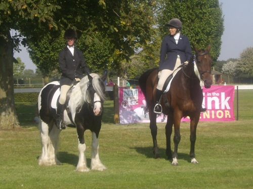 2nd place Dressage Team, National Championships Lincoln 2012