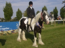Arena winner Riding Test at National Championships Lincoln 2012
